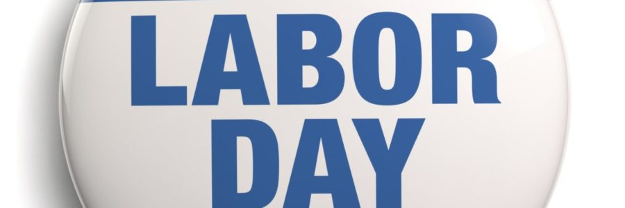 Labor Day – September 7, 2020